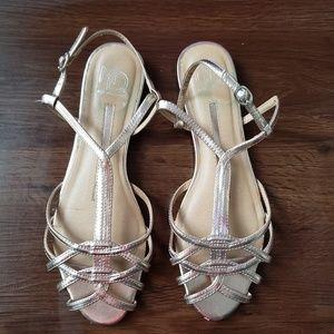 Stella BLUSH Pink Metallic Sandals